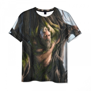 Merchandise T-Shirt Mimir God Of War Game Print