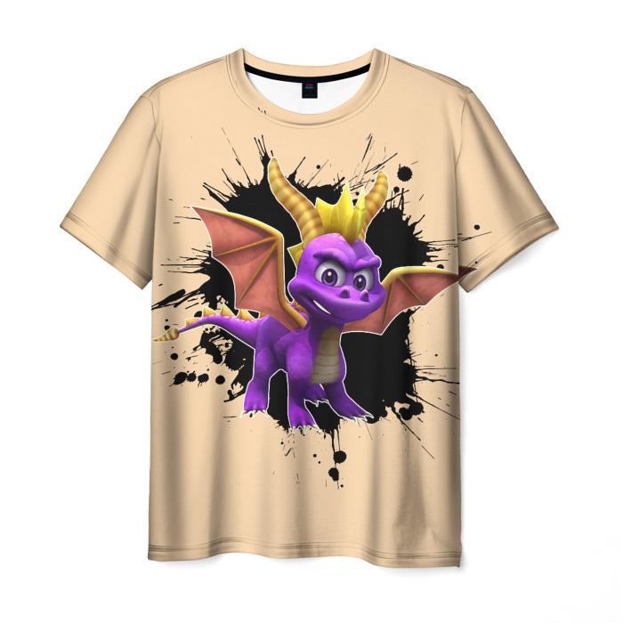 Merch T-Shirt Cream Spyro Hero Print