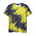 Merch T-Shirt Strokes Print Counter Strike Merch