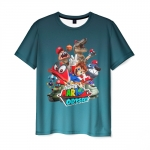 Collectibles T-Shirt Super Mario Odyssey Characters Print