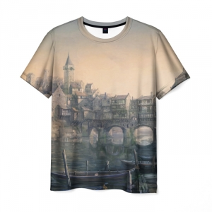 Merch T-Shirt Image Design The Witcher Wild Hunt