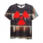 Collectibles T-Shirt Game Stalker Emblem Print