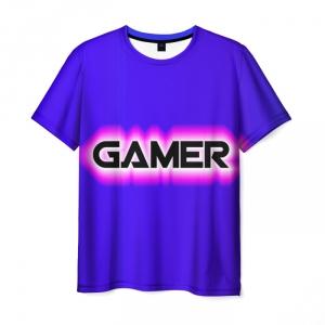 Merch T-Shirt Gamer Sign Print Merchandise