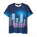 Merchandise T-Shirt Grand Theft Auto Night Stars Print