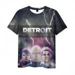 Merchandise T-Shirt Detroit Become Human Faces Print