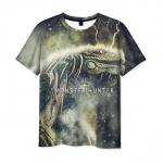 Merch T-Shirt Monster Hunter Dragon World Merch
