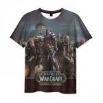 Merch T-Shirt Scene Epic Battle For Azeroth Warcraft