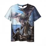 Merch T-Shirt Monster Hunter Worldscene Print