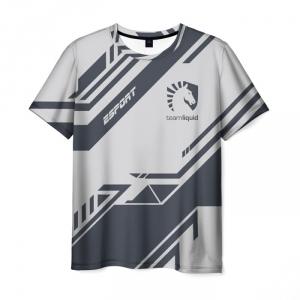 Merch T-Shirt Team Liquid E-Sport Image Print