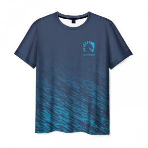 Merch T-Shirt Game Graphic Print Team Liquid E-Sport