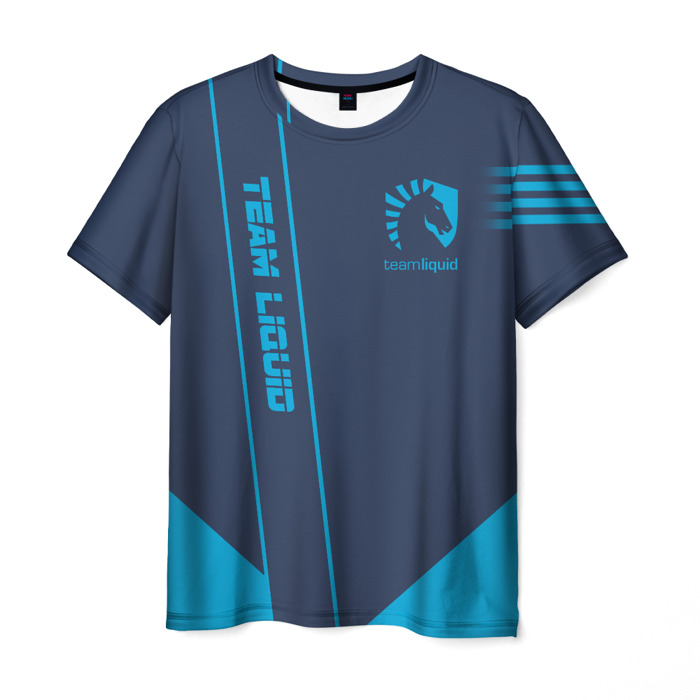 Merchandise T-Shirt Sign Team Liquid E-Sport Gray