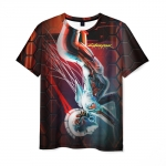 Merchandise T-Shirt Cyberpunk Merchandise Picture Print