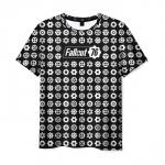 Merch T-Shirt Fallout Pattern Sign Title