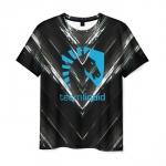 Merch T-Shirt Team Liquid E-Sport Emblem Sign