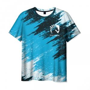 Merch T-Shirt Team Liquid E-Sport Strokes Print