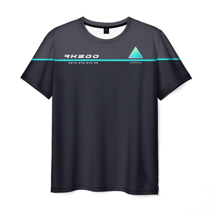 Merch T-Shirt Sign Print Detroit Become Human