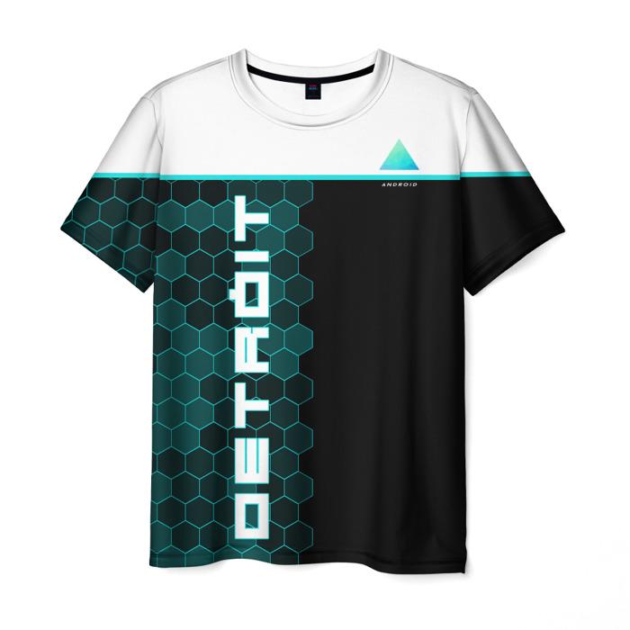 Merch T-Shirt Print Detroit Become Human