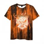Merch T-Shirt Samurai Design Print Cyberpunk 2077