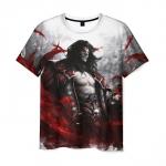 Merch T-Shirt Castlevania Lords Of Shadow Print