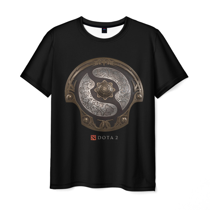 Merch T-Shirt Black Apparel The International Dota