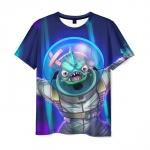Merchandise T-Shirt Fishy Fortnite Character Print