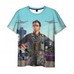 Collectibles T-Shirt Gta Hero Print Apparel