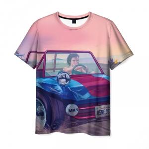 Merchandise T-Shirt Gta Car Girl Print Merch