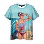 Merchandise T-Shirt Grand Theft Auto Girl Print