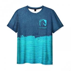 Merch T-Shirt Design Liquid E-Sport Game