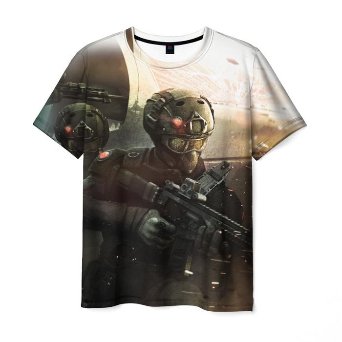 Merch T-Shirt Soldiers Rainbow Six Siege Print