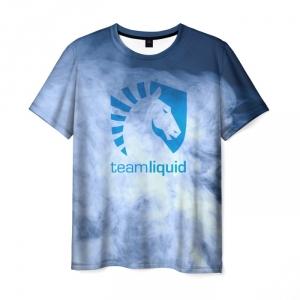 Merch T-Shirt Team Liquid E-Sport Label Design