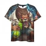 Merch T-Shirt Mad Doctor Hearthstone Print Hero