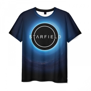 Collectibles T-Shirt Title Starfield Design Print