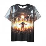 Merch T-Shirt Frostpunk City Print Design