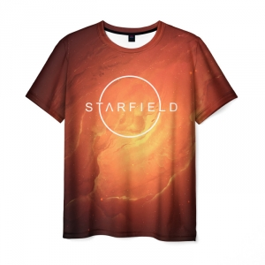 Collectibles T-Shirt Starfield Design Title Print
