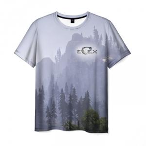 Merch T-Shirt Elex Landscape Print Merch