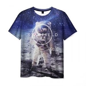 Collectibles T-Shirt Starfield Cosmos Print Apparel