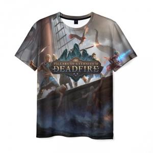 Collectibles - T-Shirt Pillars Of Eternity Deadfire Starship