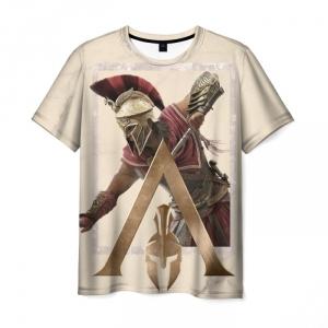 Merch T-Shirt Odyssey Assassins Creed Hero Print