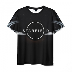 Collectibles T-Shirt Starfield Design Black Lable