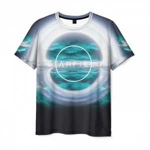 Collectibles T-Shirt Starfield Design Merchandise Print