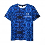 Merchandise T-Shirt Team Liquid E-Sport Blue Pattern
