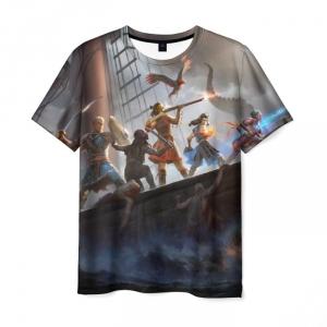 Collectibles - T-Shirt Pillars Of Eternity Deadfire Starship Print
