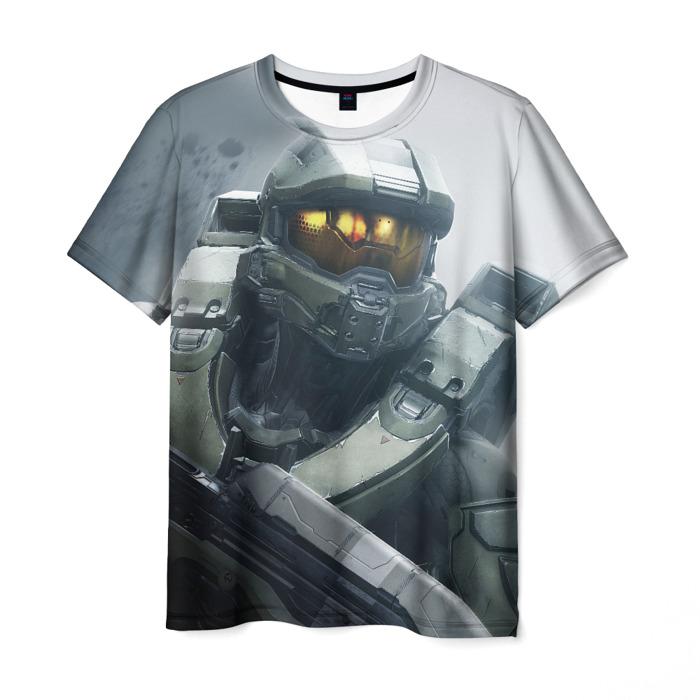 Merch T-Shirt Scene Hero Halo Print