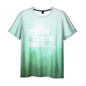 Merchandise T-Shirt Gta Green Gradient Design