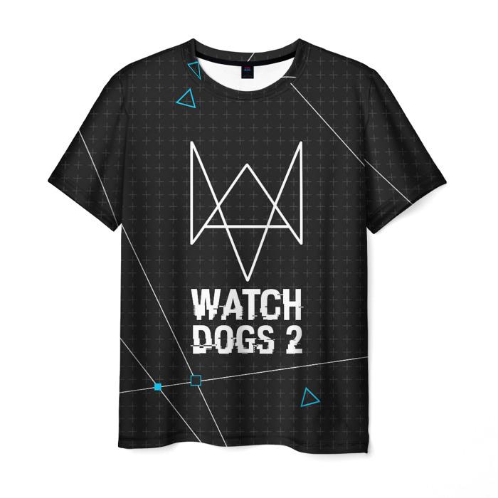 Merch Watch Dogs 2 T-Shirt Logotype Emblem