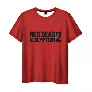 Merchandise Red Dead Redemption 2 T-Shirt Red