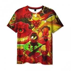 Collectibles T-Shirt Doom Game Art Print