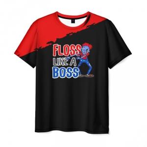 Merch T-Shirt Floss Like A Boss Dance Art