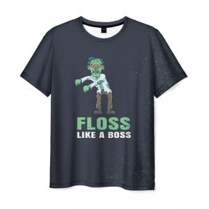 Merch T-Shirt Floss Like A Boss Zombie